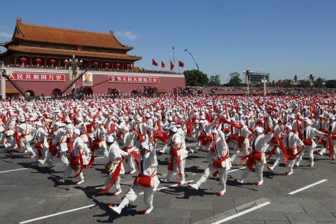 2009国庆阅兵安塞腰鼓