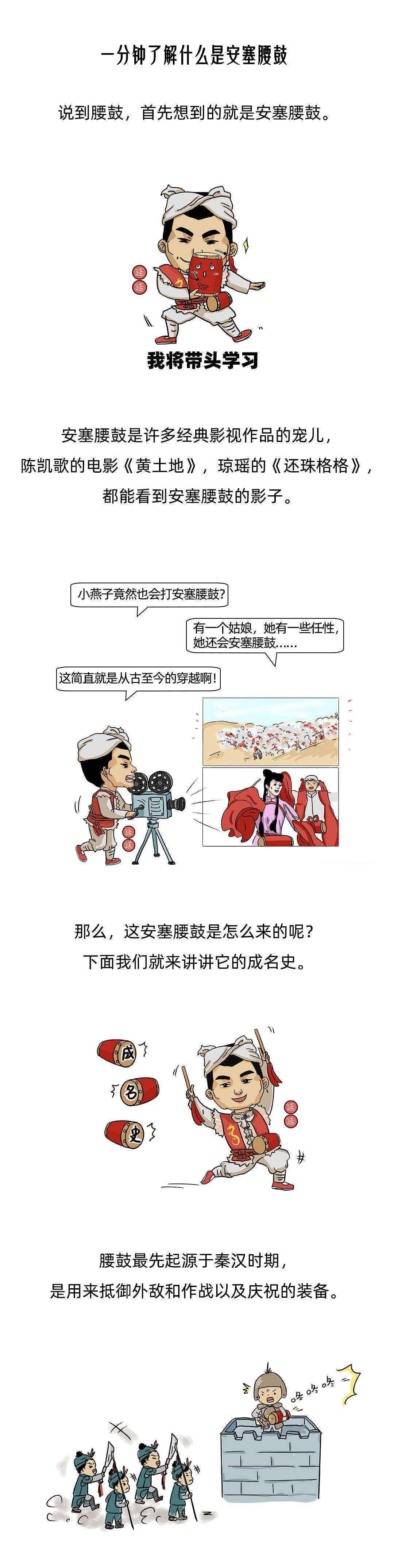 翔云漫画《一分钟了解什么是安塞腰鼓》