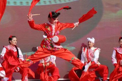 2020年全国乡村春晚集中展示活动安塞分会场隆重举行