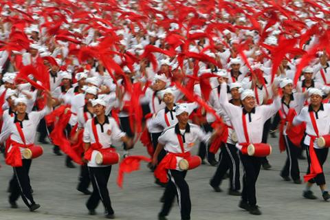 安塞腰鼓表演文化历史渊源流长